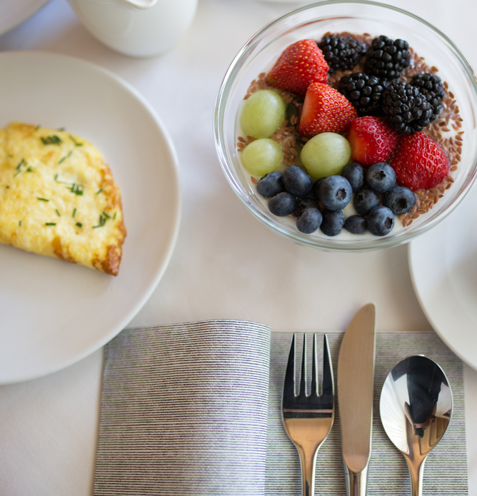 Frühstücken Pension Sankt Urban